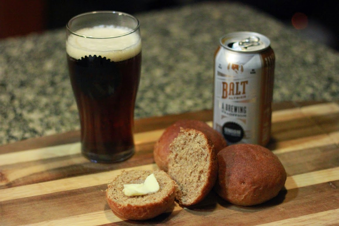 Whole Wheat Honey Beer Rolls