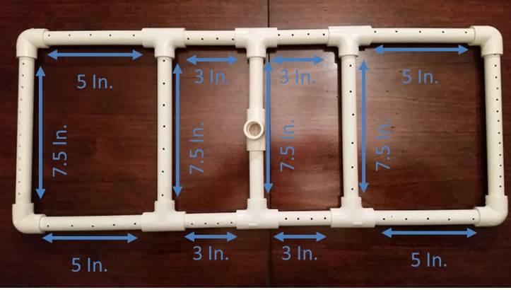 Sparge Manifold Sizes